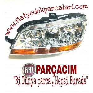 ÖN FAR  SOL SISLI , FIAT IDEA 2003 - 2009 MODELLER , MUADİL FIAT YEDEK PARCA , 51747607