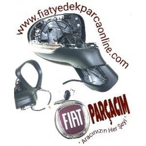 FIAT 500 X DIS DIKIZ AYNASI SAG  SINYALLI KAPAKSIZ ,   ORJINAL FIAT YEDEK PARCA , 735614530