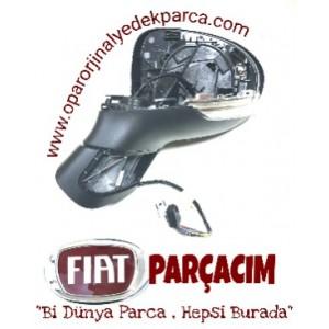 FIAT 500 X DIS DIKIZ AYNASI SOL SINYALLI KAPAKSIZ ,   ORJINAL FIAT YEDEK PARCA , 735614537