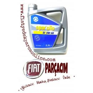 5W-30 MOTOR YAĞI 3.2 LT. OPAR OLIO , ORJINAL FIAT YEDEK PARÇA , 55175990