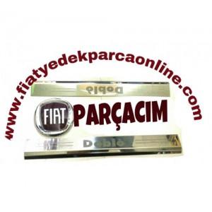 KAPI IC ESIK PASLANMAZ  KROM CITA ON KAPILAR , FIAT DOBLO 2002 - 2013 MODELLER , ORJINAL FIAT YEDEK PARCA
