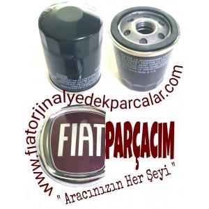 YAĞ FİLTRESİ , FIAT FULLBACK , ORJINAL FIAT YEDEK PARÇA , 6000605218