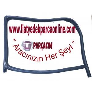 FİTİL  CAM  ÖN KAPI CAMI  SAG ,  FİAT FİORİNO , ORJINAL FIAT YEDEK PARCA , 1354696080