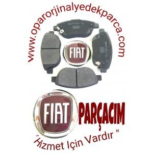 FREN BALATA TAKIM ON FISLI IKAZLI KLİSPLİ  , FIAT 500 L ,1.4 BENZINLI , 1.6 MULTIJET ,  ORJINAL FIAT YEDEK PARCA , 77366534