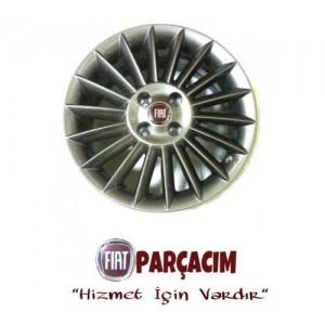 "FIAT LINEA 16"" CELIK JANT TAKIM KOYU GRI , ORJINAL FIAT YEDEK PARCA , 55174536"