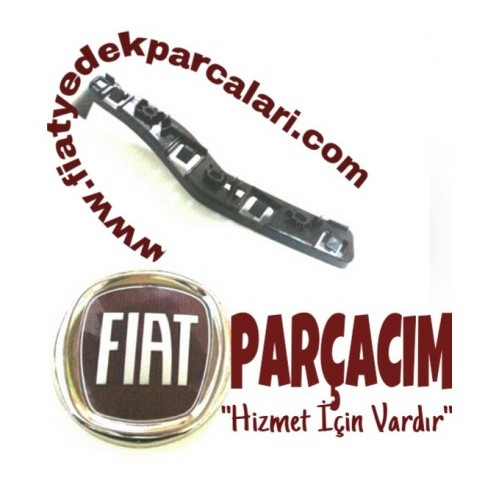 ON TAMPON BAGLANTI BRAKETI SOL , FIAT 500 L , ORJINAL FIAT YEDEK PARCA , 51988465