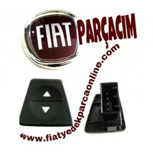 CAM ACMA ANAHTARI ON SOL , FIAT PANDA 2003 - 2012 MODELLER , ORJINAL FIAT YEDEK PARCA , 735360836